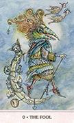 The Fool Tarot card in Phantasma deck