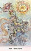 The Sun Tarot card in Phantasma deck