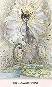 Judgement Tarot card in Phantasma deck