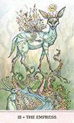 The Empress Tarot card in Phantasma deck