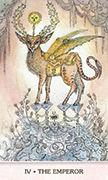 The Emperor Tarot card in Phantasma deck