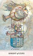 Knight of Cups Tarot card in Phantasma deck