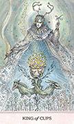 King of Cups Tarot card in Phantasma deck