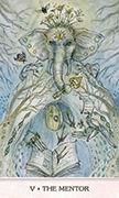 The Hierophant Tarot card in Phantasma deck