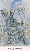 King of Swords Tarot card in Phantasma deck