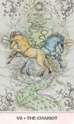 The Chariot Tarot card in Phantasma deck