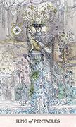King of Pentacles Tarot card in Phantasma deck