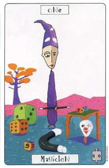 The Magician Tarot Card - Phantasmagoric Tarot Deck