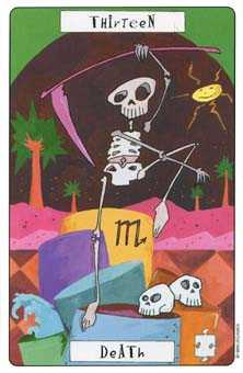 Death Tarot Card - Phantasmagoric Tarot Deck