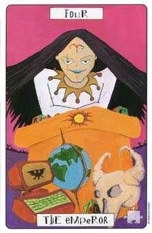 The Emperor Tarot Card - Phantasmagoric Tarot Deck