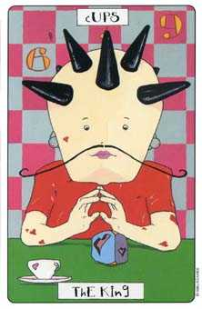 King of Hearts Tarot Card - Phantasmagoric Tarot Deck