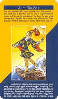 The Fool Tarot Card - Quick and Easy Tarot Deck