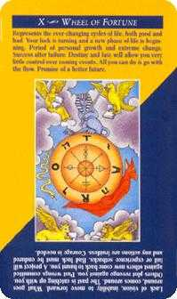 Wheel of Fortune Tarot Card - Quick and Easy Tarot Deck