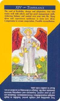 Temperance Tarot Card - Quick and Easy Tarot Deck