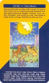 The Moon Tarot Card - Quick and Easy Tarot Deck