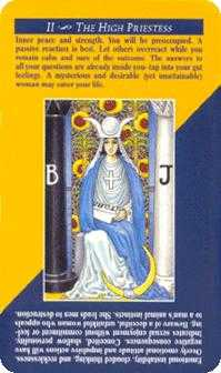 The Popess Tarot Card - Quick and Easy Tarot Deck