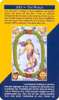 The World Tarot Card - Quick and Easy Tarot Deck