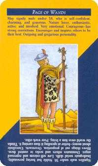 Slave of Sceptres Tarot Card - Quick and Easy Tarot Deck