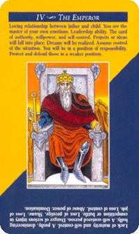 The Emperor Tarot Card - Quick and Easy Tarot Deck