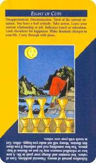 Eight of Cups Tarot Card - Quick and Easy Tarot Deck
