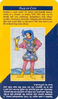 Knave of Cups Tarot Card - Quick and Easy Tarot Deck