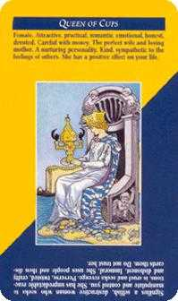 Queen of Bowls Tarot Card - Quick and Easy Tarot Deck