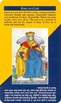 King of Cauldrons Tarot Card - Quick and Easy Tarot Deck