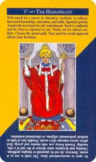 The Hierophant Tarot Card - Quick and Easy Tarot Deck