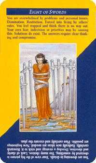 Eight of Arrows Tarot Card - Quick and Easy Tarot Deck