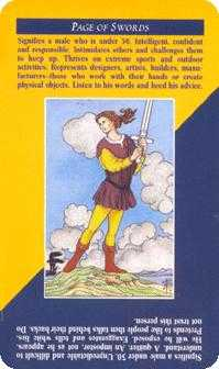 Page of Swords Tarot Card - Quick and Easy Tarot Deck