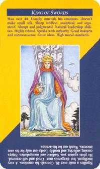 King of Rainbows Tarot Card - Quick and Easy Tarot Deck
