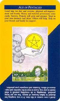 Ace of Discs Tarot Card - Quick and Easy Tarot Deck
