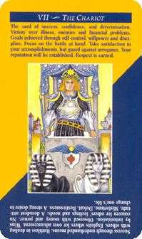 The Chariot Tarot Card - Quick and Easy Tarot Deck