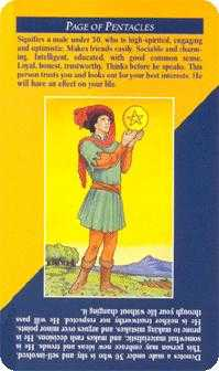 Daughter of Coins Tarot Card - Quick and Easy Tarot Deck