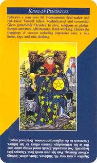 King of Discs Tarot Card - Quick and Easy Tarot Deck