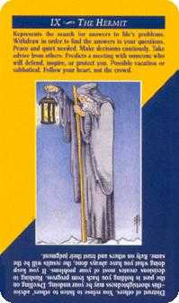 The Hermit Tarot Card - Quick and Easy Tarot Deck
