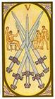 renaissance - Five of Swords