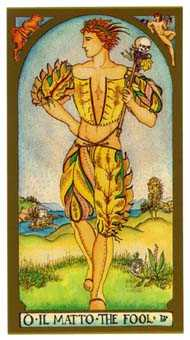 The Fool Tarot Card - Renaissance Tarot Deck