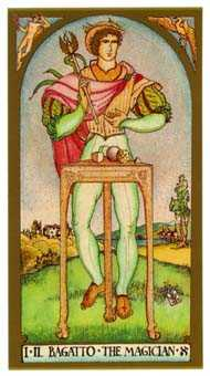 The Magus Tarot Card - Renaissance Tarot Deck