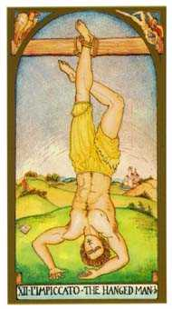 The Hanged Man Tarot Card - Renaissance Tarot Deck