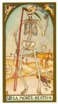 The Close Tarot Card - Renaissance Tarot Deck