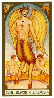 The Devil Tarot Card - Renaissance Tarot Deck