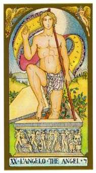 Judgement Tarot Card - Renaissance Tarot Deck