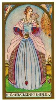 The Empress Tarot Card - Renaissance Tarot Deck