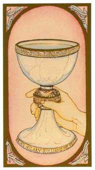 Ace of Water Tarot Card - Renaissance Tarot Deck