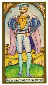 The Emperor Tarot Card - Renaissance Tarot Deck