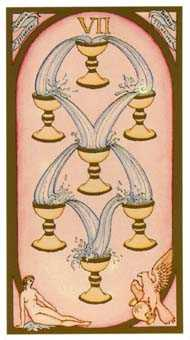 Seven of Hearts Tarot Card - Renaissance Tarot Deck