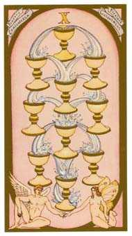 Ten of Cauldrons Tarot Card - Renaissance Tarot Deck