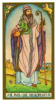 The High Priest Tarot Card - Renaissance Tarot Deck