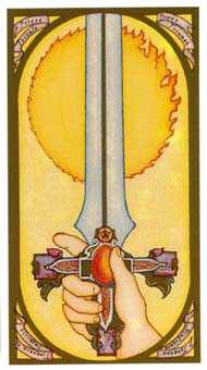 Ace of Swords Tarot Card - Renaissance Tarot Deck